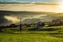 Morning Mist over Yorkshire