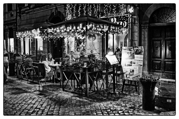 Back Street Cafe by richy