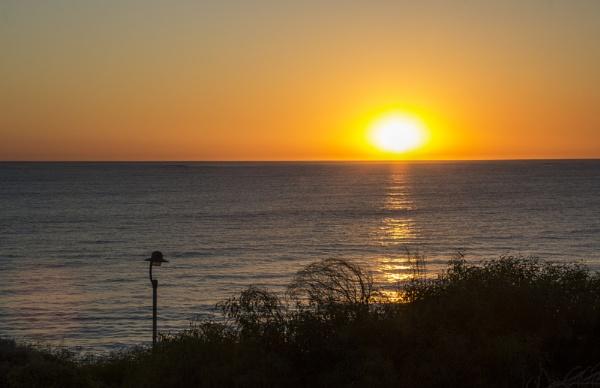 Sunset from Quinn\'s Beach by Irishkate