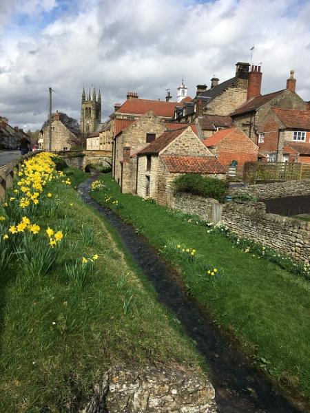 Springtime in Helmsley. by Drighlynne