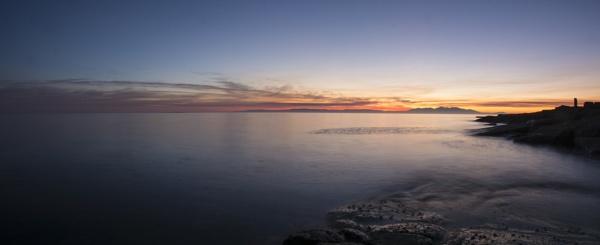 Arran view Panorama by Bickeringbush