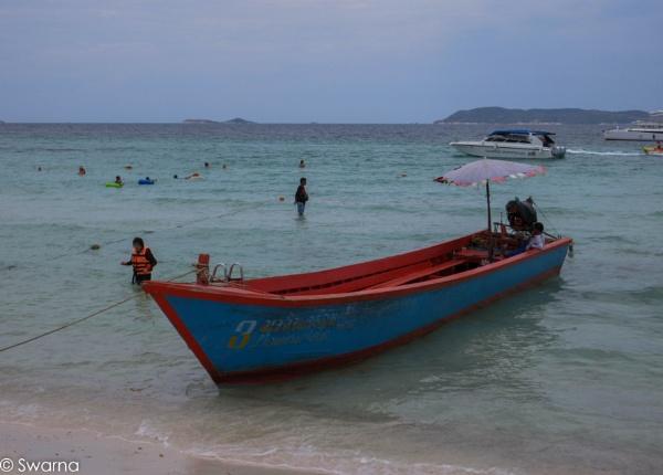 Coral Island - Pattaya, Thailand by Swarnadip