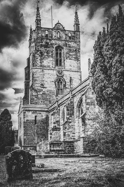 St Edith\'s Church at Monk\'s Kirby by Lord_Raglan