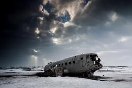 U.S. Navy Airplane Wreck at Solheimasandur
