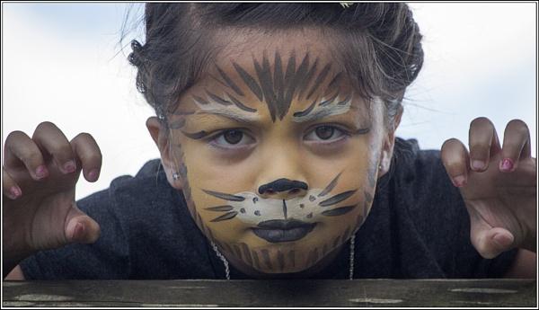 Tiger Girl by BobDraper