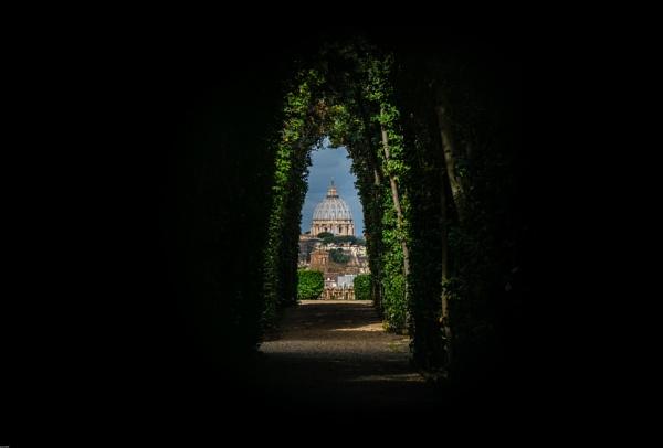 Look through the keyhole