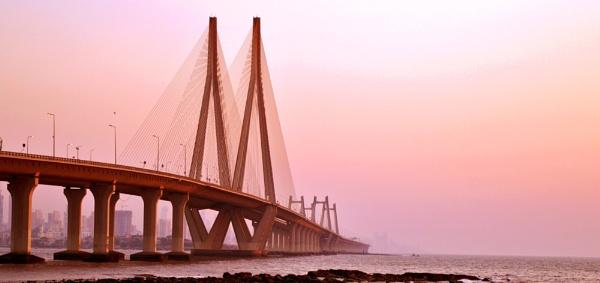Bombay sea link by kingmukherjee