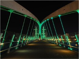 Salford Millennium Bridge