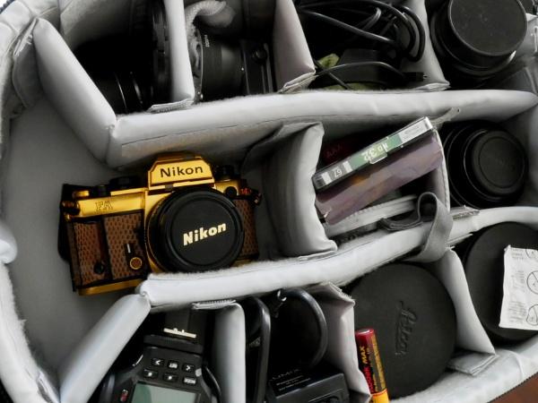 24 Karat Gold Nikon by Savvas511
