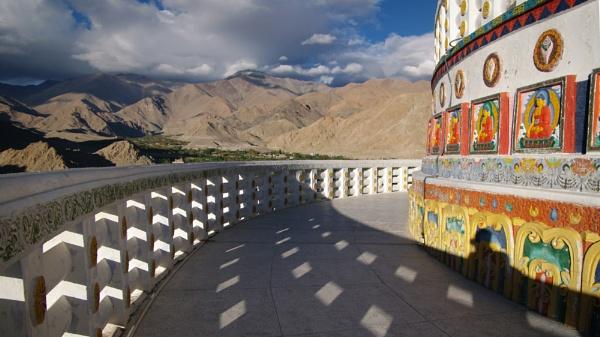 Shanti Stupa by tom_earwaker