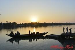 Sunset at Sonakhali