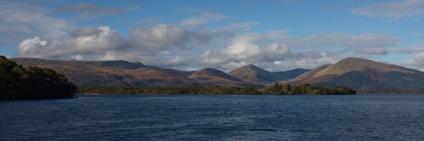Balmaha looking west to the Luss hills by digital_boi