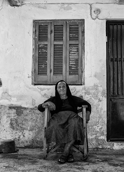 Corfu Old Lady by Zydeco_Joe