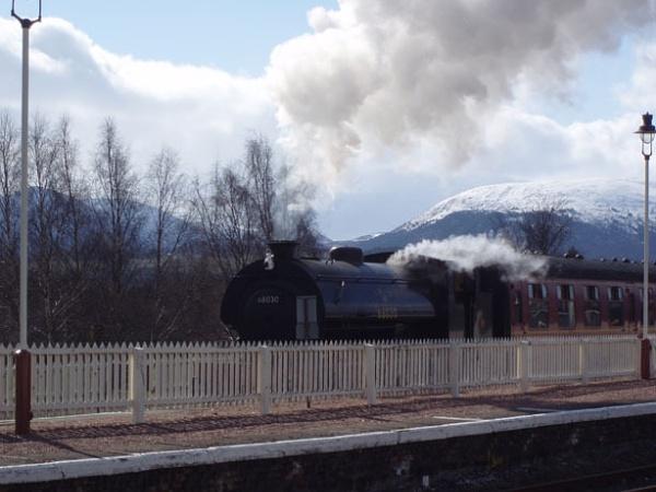 Aviemore Railway by p1azt1ck