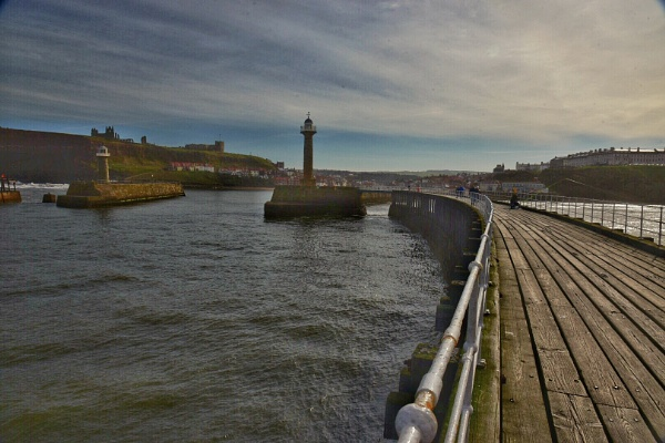 Whitby Harbour by mmart