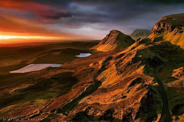 Trotternish Landslip by Tynnwrlluniau