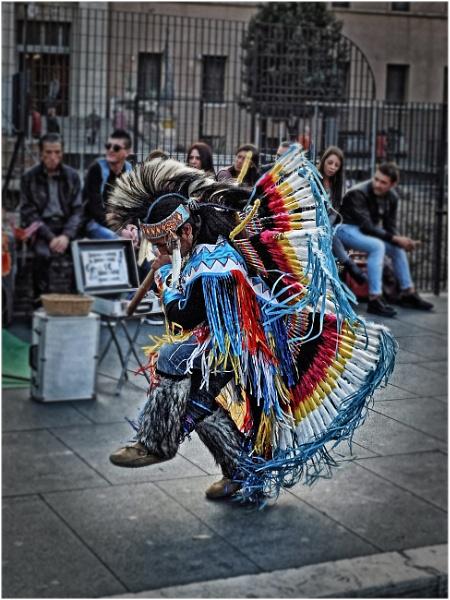 Street Performer 2 by richy