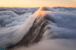 Suilven Sunrise Inversion