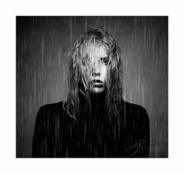It's raining my soul, it's raining, but it's raining dead eyes