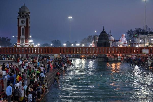River Ganga Haridwar [india] by Bantu