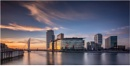 Sunset on Media City by Somerled7