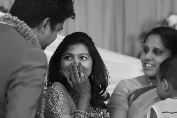 Candid Wedding Photographers in Coimbatore by yabeshphotography
