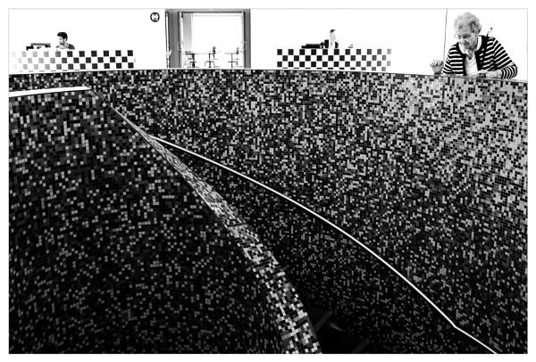 Stairway - checkered - strip by bliba