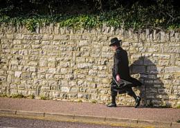 Man in black - colour version