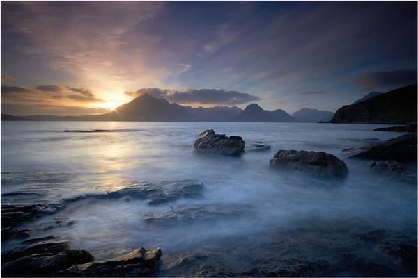 Across Loch Scavaig by jeanie