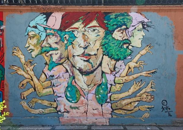 Urban Wall Art, San Jose, Costa Rica by brian17302