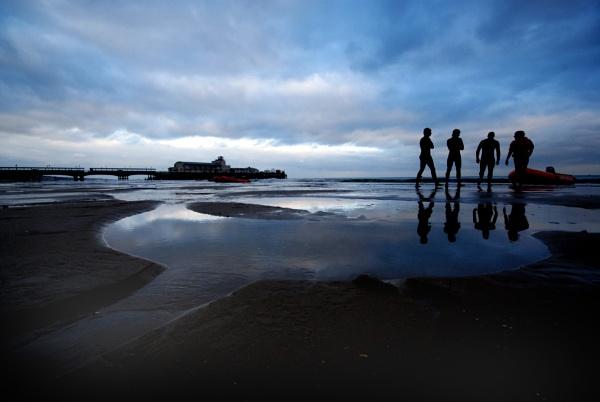 Beach walk by MIKEYMIKEY