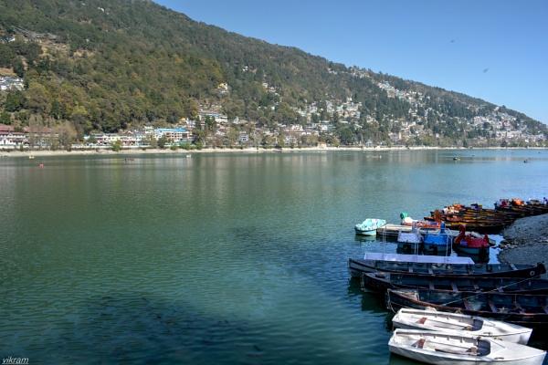 Naini lake Nainital [India] 2 by Bantu