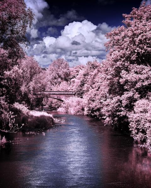 River Kelvin in Infra Red by Umberto_V