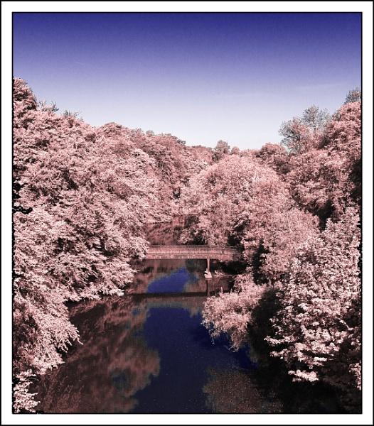 River Kelvin in Infra Red 2 by Umberto_V
