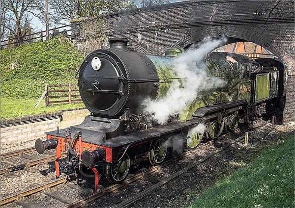 Steam Train by koiboy