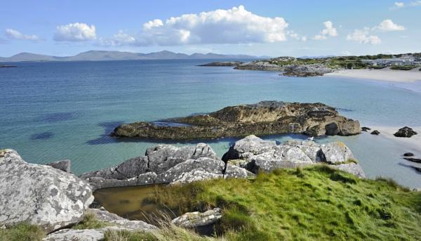 Ireland coastline landscape by jordachelr