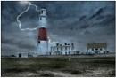 Stormy Portland Bill by TrevBatWCC