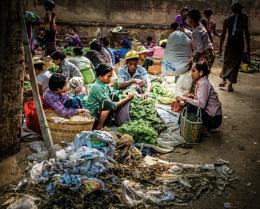 Bagan Street Market