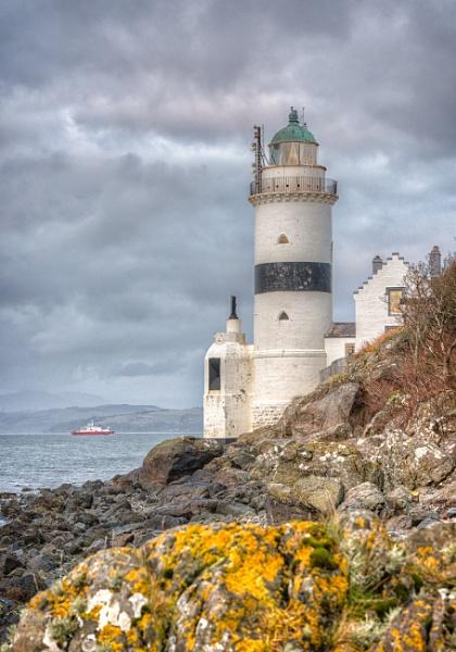 Cloch Lighthouse by ww2spitfire