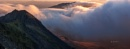 Crib Goch misty sunrise. by J_Tom