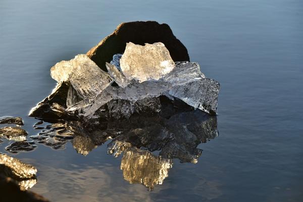 Ice on the rocks by djh698