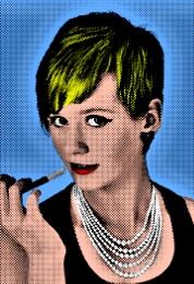 Hepburn Meets Warhol