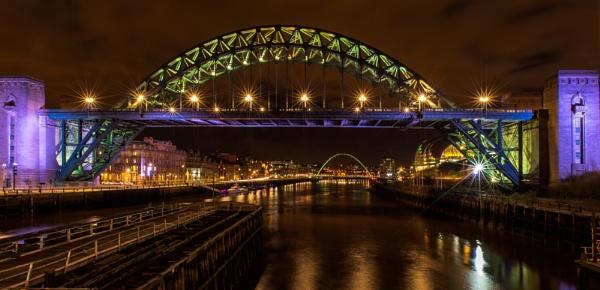 The Tyne Bridges by RobertTurley
