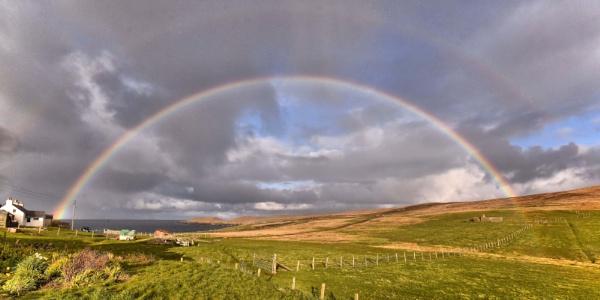 Double rainbow by HelenMarie