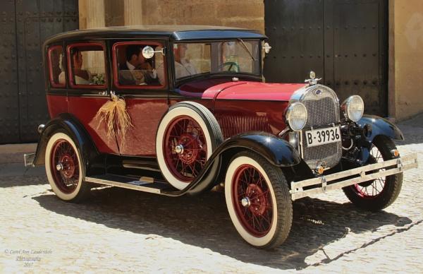 The Wedding Car by canoncarol