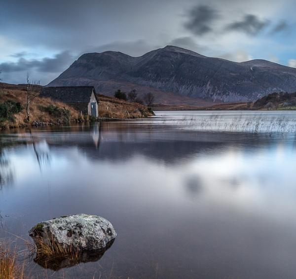 Loch Stack in Sutherland by Bigpoolman