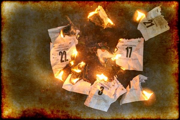 Burned days by Zenonas