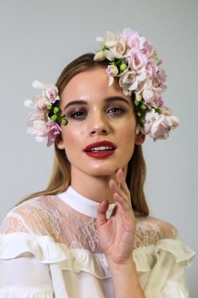 Flowers in her hair 2 by brianwakeling