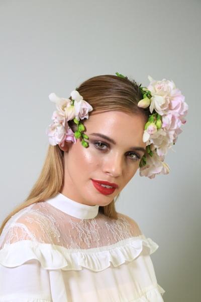 Flowers in her hair 3 by brianwakeling
