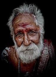hindu pilgrim in Madurai
